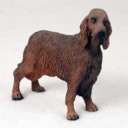 Raining Cats and Dogs | Irish Setter Figurine