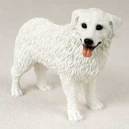 Raining Cats and Dogs | Kuvasz Figurine