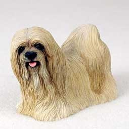Raining Cats and Dogs | Lhasa Apso Figurine