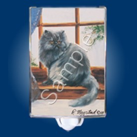Raining Cats and Dogs | Persian Cat Night Light