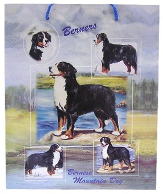 Raining Cats And Dogs Bernese Mountain Dog Gift Bag
