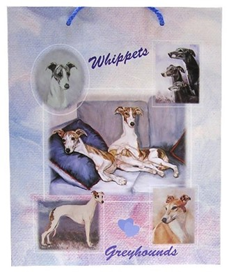 Raining Cats and Dogs | Greyhound and Whippet Gift Bag