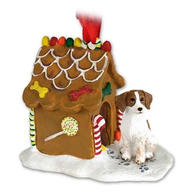 Raining Cats and Dogs | Brittany Gingerbread Christmas Ornament