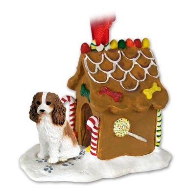 Raining Cats and Dogs | Cavalier King Charles Gingerbread Christmas Ornament