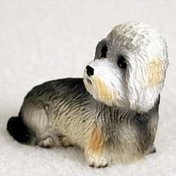Raining Cats and Dogs | Dandie Dinmont Tiny One Dog Figurine