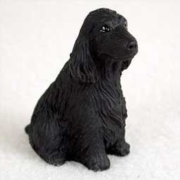 Raining Cats and Dogs | English Cocker Tiny One Dog Figurine