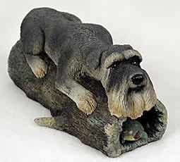 Raining Cats and Dogs | Giant Schnauzer Special Edition My Dog Figurine