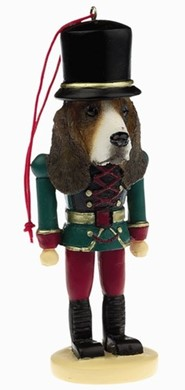 Raining Cats and Dogs | Basset Hound Nutcracker Dog Christmas Ornament