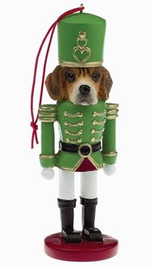 Raining Cats and Dogs | Beagle Nutcracker Dog Christmas Ornament