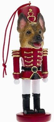 Raining Cats and Dogs | German Shepherd Nutcracker Dog Christmas Ornament