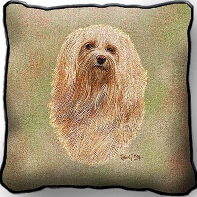 Raining Cats and Dogs | Havanese Pillow, Made in the USA