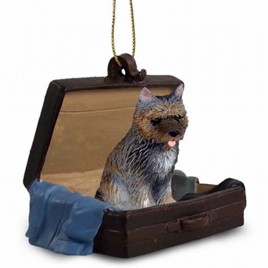 Raining Cats and Dogs | Cairn Terrier Traveling Companion Ornament