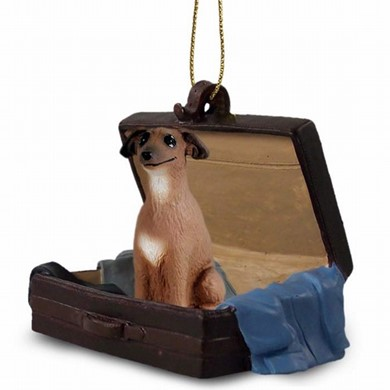 Raining Cats and Dogs | Italian Greyhound Traveling Companion Ornament