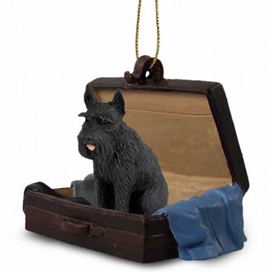 Raining Cats and Dogs | Giant Schnauzer Traveling Companion Ornament