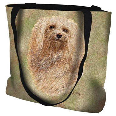 Raining Cats and Dogs | Havanese Tapestry Tote Bag
