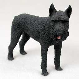 Raining Cats and Dogs | Giant Schnauzer Figurine
