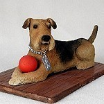 Raining Cats and Dogs | Airedale My Dog Figurine