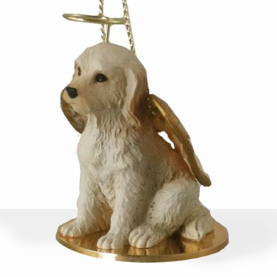 Raining Cats and Dogs | Labradoodle Dog Angel Ornament