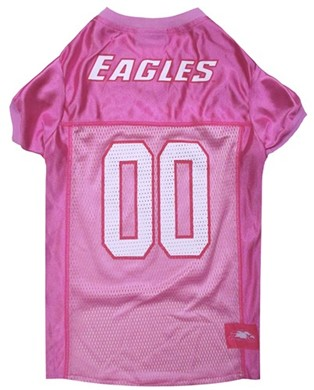 Raining Cats and Dogs | Philadelphia Eagles Pink Pet Football Jersey