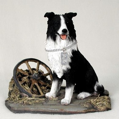 Raining Cats and Dogs | Border Collie My Dog Figurine