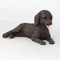 Raining Cats and Dogs | Labradoodle Figurine