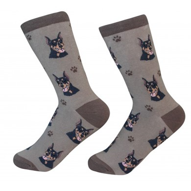 Raining Cats and Dogs |Doberman Pet Lover Socks