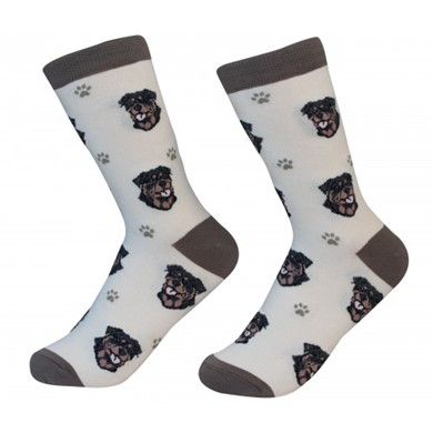 Raining Cats and Dogs |Rottweiler Pet Lover Socks