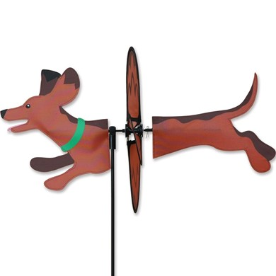 Raining Cats and Dogs | Dachshund Dog Garden Spinner