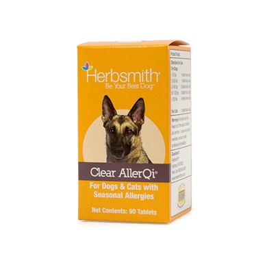 Raining Cats and Dogs | Herbsmith Clear AllerQi Tablets 90 ct