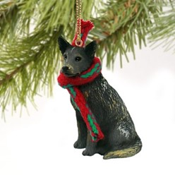 Australian Cattle Dog Christmas Ornament- click for more breed colors