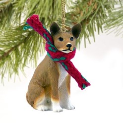 Basenji Christmas Ornament