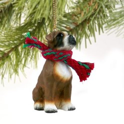 Boxer Christmas Ornament- click for more breed options