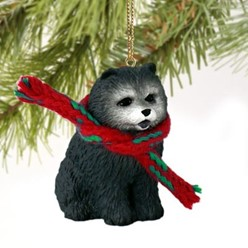 Chow Christmas Ornament- click for more breed colors