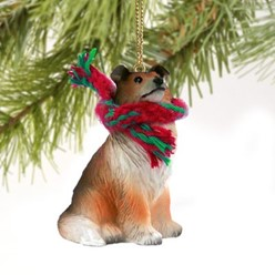 Collie Christmas Ornament- click for more breed options