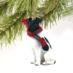 Smooth Fox Terrier Christmas Ornament