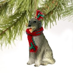 Irish Wolfhound Christmas Ornament