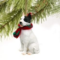 Pit Bull Christmas Ornament