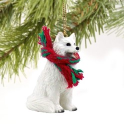 Samoyed Christmas Ornament