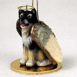 Alaskan Malamute Angel Ornament