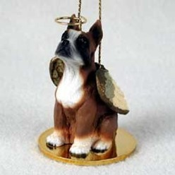 Boxer Dog Angel Ornament - click for more breed options