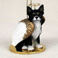 Chihuahua Dog Angel Ornament - click for more breed colors