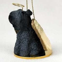 Kerry Blue Terrier Angel Ornament