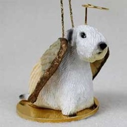 Sealyham Terrier Angel Ornament