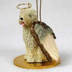 Soft Coated Wheaten Angel Ornament