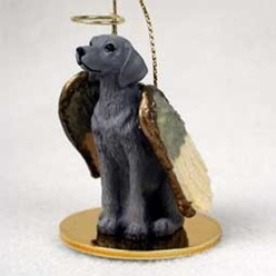 Weimaraner Angel Ornament