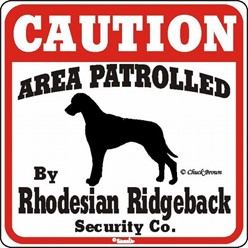 Rat Terrier Caution Sign, the Perfect Dog Warning Sign