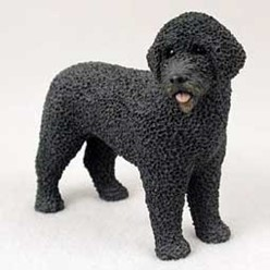 Portuguese Water Dog Figurine