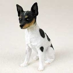 Rat Terrier Figurine