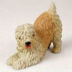 Soft Coated Wheaten Figurine