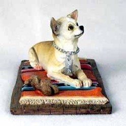 Chihuahua My Dog Figurine